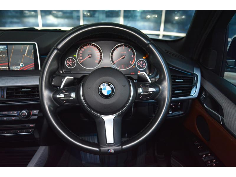 BMW X5 F15 Wagon 4dr xDrive30d M Sport SA 8sp 4 Wheel Drive 650kg 3.0DTTi (CBU)