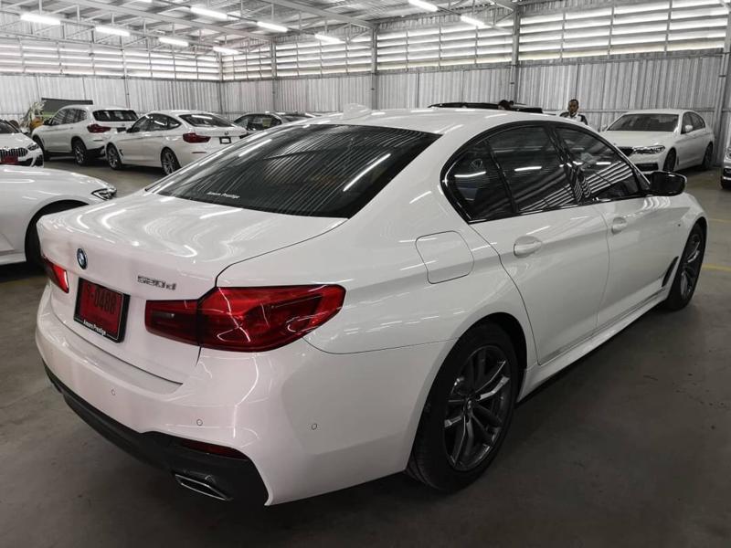 BMW 520d G30 Sedan 4dr Steptronic 8sp Rear Wheel Drive 2.0DTi (M Sport)