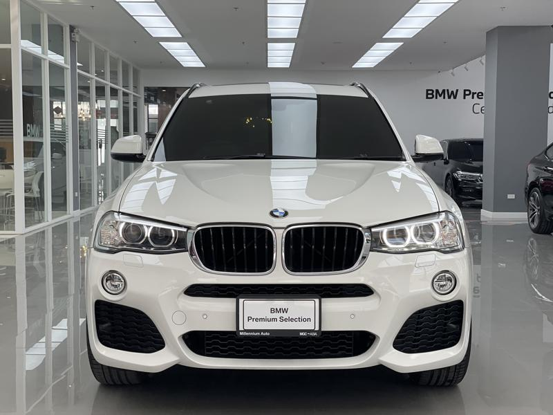 BMW X3 F25 Wagon 4dr xDrive20d Steptronic 8sp 4 Wheel Drive 2.0DCT (M Sport)